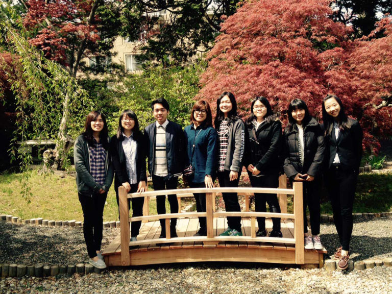 GCU students from Taiwan
